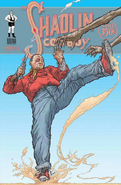 【特报】Geof Darrows Shaolin Cowboy Print Set (签名版少林牛仔海报集) - caininghan99 - 蔡宁汉的纸片博客